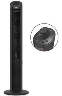 Ventilador Torre 42 Neg Premium 3veloc C/control Mod Pft423r