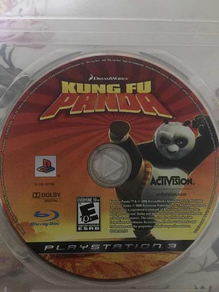 Kung Fu Panda-ps3 Originalem Mídia Física-não Possui Encarte