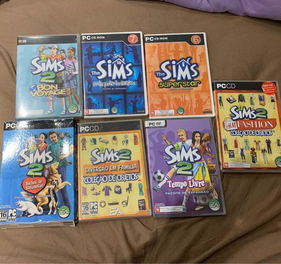 Lote Expansões The Sims 2