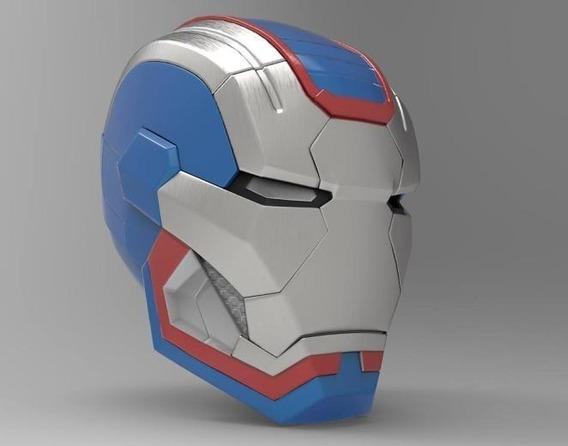 Plano Casco Iron Man Patriot