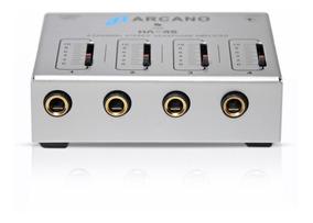 Sjuro Amplificador De Fones Arcano Ha-4s 4 Canais Bi-volt