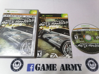 Need For Speed Most Wanted Xbox Clasico