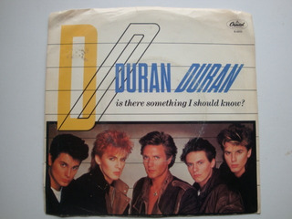Duran Duran Is There Something 7 Vinilo Usa 83 Mx
