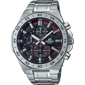 Relógio Casio Edifice Masculino Prata Preto Efr-564d-1avudf