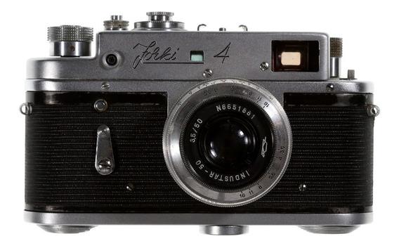 Câmera Analógica Zorki 4 (pm-1755 - Série Para Exportação)