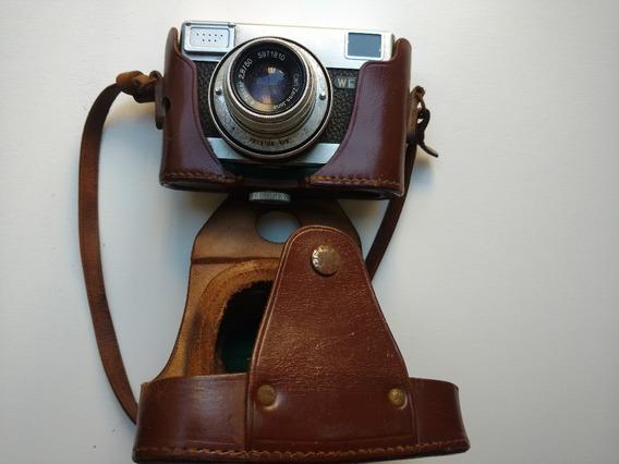 Máquina Fotográfica Werra Lente Zeiss Tessar 2,8/50 Rara!