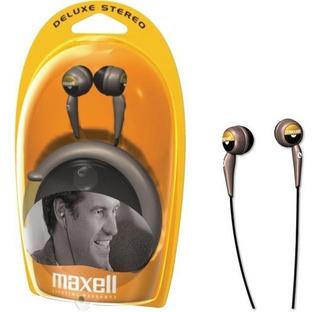 Auricular Maxell Deluxe Stereo Ear Buds C/estuche 3.5 Plug
