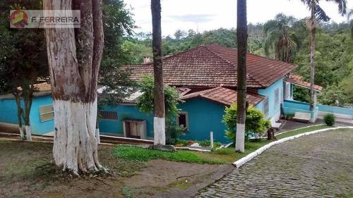 Chácara Com 7 Dormitórios Para Alugar, 7200 M² Por R$ 4.500,00/mês - Recreio Campestre - Itapecerica Da Serra/sp - Ch0022