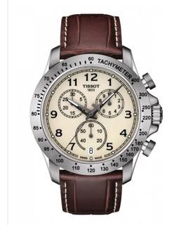 Reloj Tissot V8 T1064171626200 Cuarzo Original Chronograph