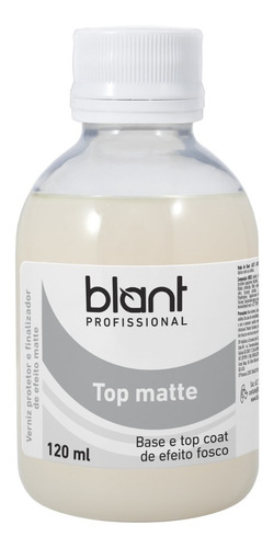 Top Matte Profissional 120ml 4free Blant Rende Muito