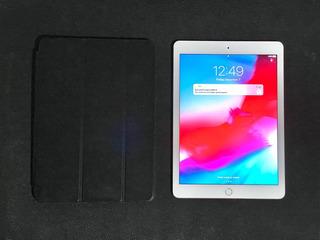 iPad Air 2 16gb Silver 100% Funcional + Leather Case (funda)