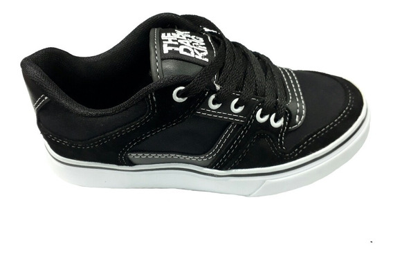 Zapatillas Skate Hip Hop Haley Negro The Dark King