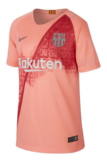 Camisa Juvenil Nike Barcelona 3 2018/19 Stadium 919235-694