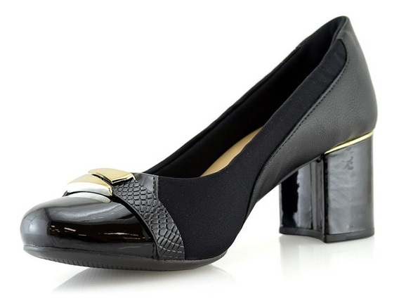 Zapatos Calzados Mujer Dama 422017-01 Malu Confort Luminares