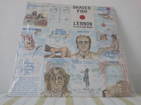 Lp Vinil John Lennon Plastic Ond Band C/ Encarte