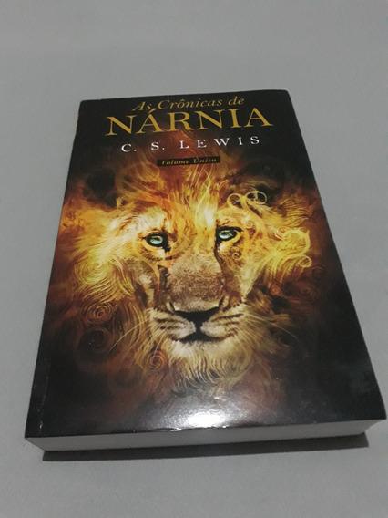Livro As Crônicas De Narnia Volume Único