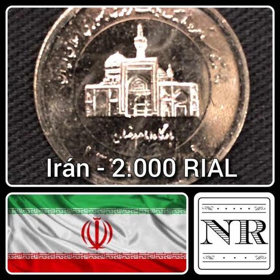 Iran - 2000 Rial - 1389 (2010) - Km #1276 - Banco Central
