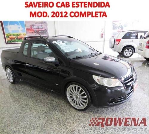 Saveiro Trend Cab Est Mod 2012 Completa Rodas Aro 18