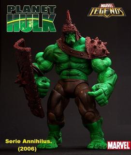 Planet Hulk. Marvel Legends. (serie Annihilus) 2006.