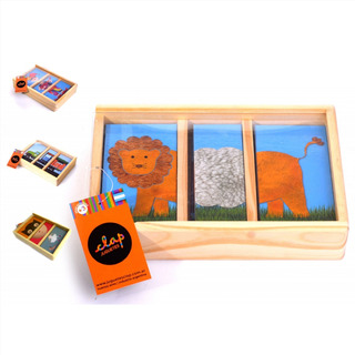 Rompecabeza Clap Puzzle Infantil Caja Madera Tienda Pepino