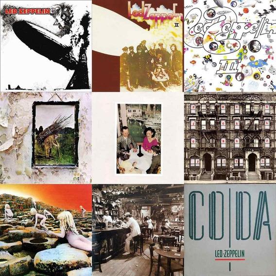 Discografia Led Zeppelin 9 Cds