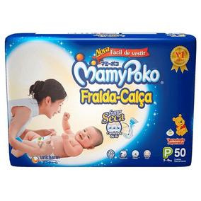 Fralda Calça Mamypoko Tamanho P 50 Unidades