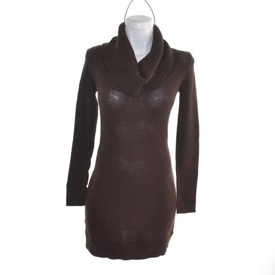 Bcbg Vestido Estilo Suéter Café XsMrsp$2000