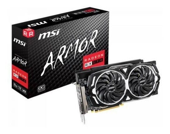 Placa De Video Amd 8gb Ddr5 Armor