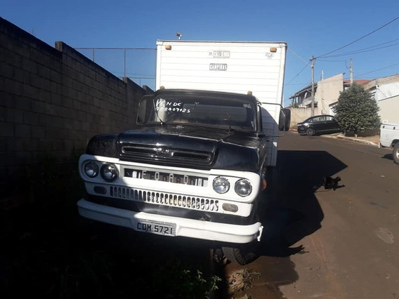 Vende- Se Ou Troca! Caminhão F-350 -1968- Diesel Baú