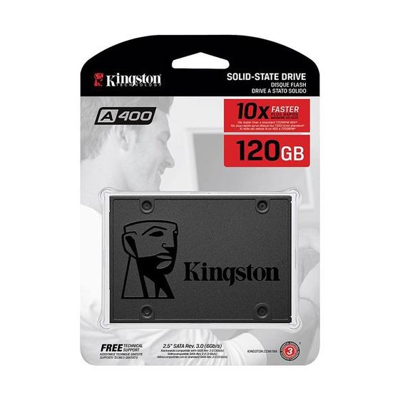 Disco Sólido Kingston Ssd 120gb A400 Sata 3