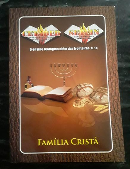 Livro Família Cristã - Cetadeb