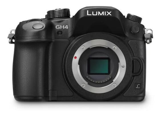 Câmera Panasonic Lumix Dc-gh4 4k Mirrorless M4/3 (corpo)