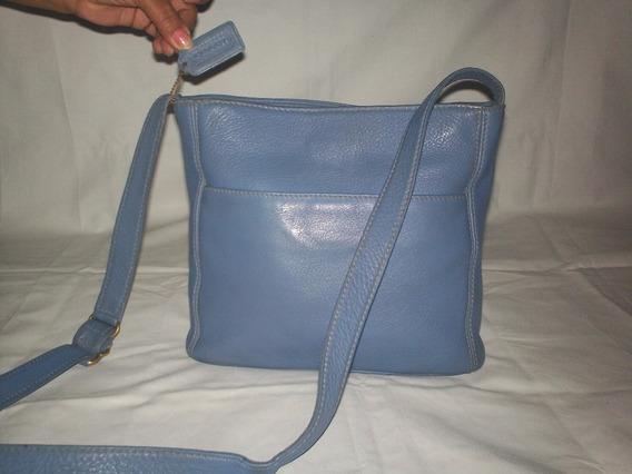 Bolso Azul Acero Coach