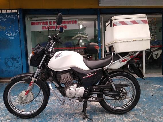 Honda Cg Cargo 125 I 2017 Branca Categoria Aluguel Troca
