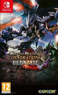 Monster Hunter Generations //fisico Sellado// //mathogames//