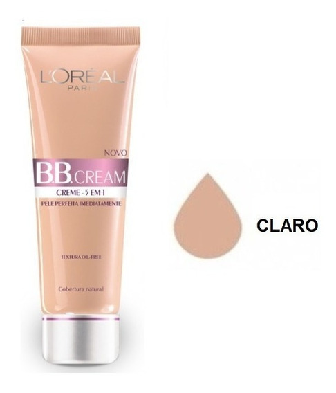 Bb Cream Loréal Paris Fps 20 5 Em 1 30ml (temos As 3 Cores)