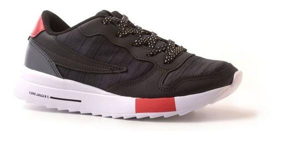 Zapatillas Fila Euro Jogger Niños Black