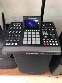 Sampler Akai Mpc 5000 Com Bag Gator - A Vista 5500 Mpc 1000