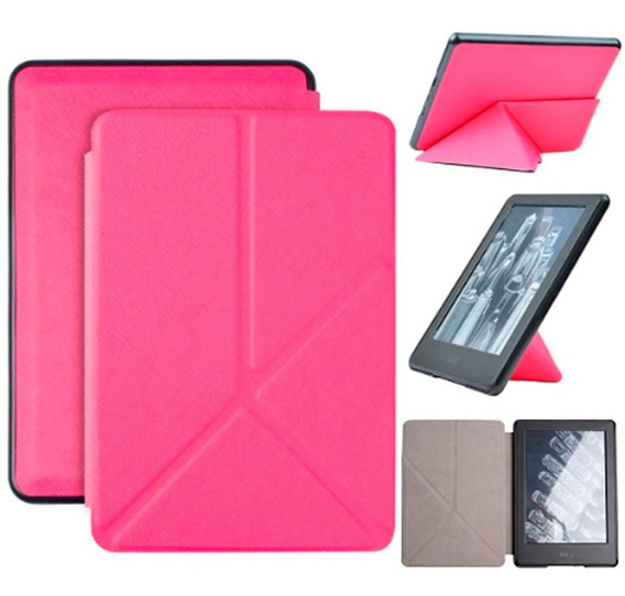 Capa Case Novo Kindle 10ª G. 2019 Origami Pink + Película