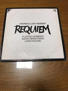 Andrew Lloyd Webber Requiem Lp Nm Domingo Brightman Maazel