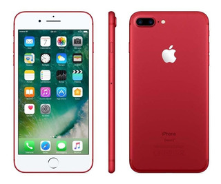 Apple iPhone 7 Plus Red Vermelho 128gb Brinde Pelicula + Cap