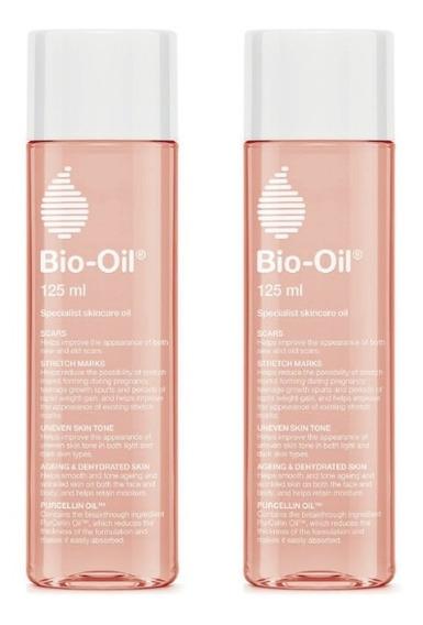 Bio Oil Tratamiento Para Cicatrices 125 Ml. - Pack X2