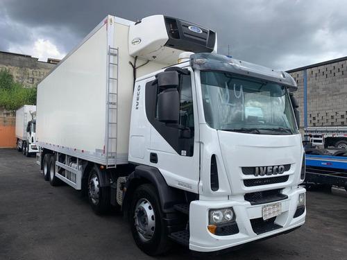 Iveco Tector 240e28 Bi-truck 14/14 Baú Frigorífico