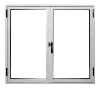 Ventana De Abrir Aluminio 2 Hojas Herrero 120 X 110