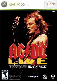 Ac/dc Live Rock Band Xbox 360 Original Frete R$12