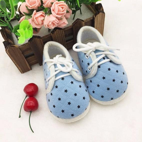 Sapatinho Bebê Azul Rosa Menino Menina