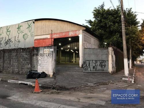 Galpão Comercial Para Alugar, 1161m² - Jardim Piratininga - Osasco/sp - Ga0571