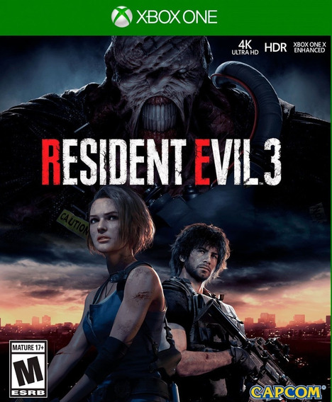 Resident Evil 3 Xbox One + 1 Jogo Brinde**