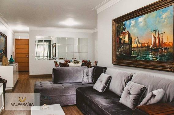 Apartamento Com 3 Dormitórios À Venda, 104 M² Por R$ 668.000 - Urbanova - São José Dos Campos/sp - Ap0438