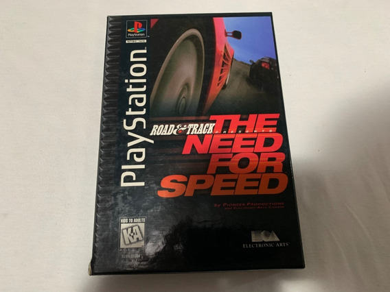 The Need For Speed Long Box Ps1 Original Americano